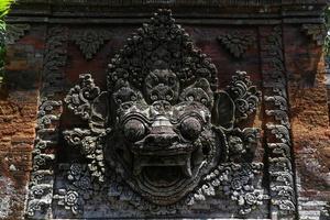 gezichten in Ubud foto