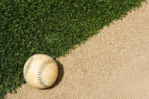 oude softbal foto
