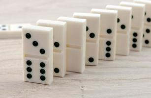 uitzicht op domino foto