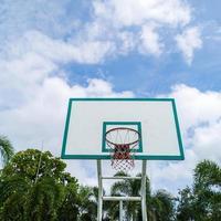 basketbal hoepel. foto