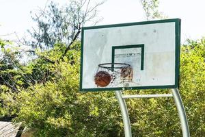 een basketbal foto