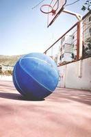 basketbal op straat foto