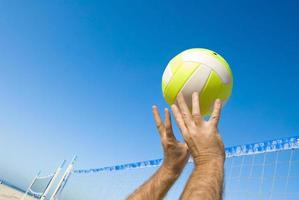 volleybalspeler foto