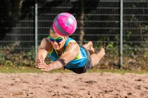 beachvolleyballer foto
