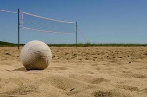 strand volleybal foto