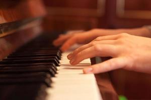 piano tijd foto