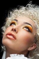 gezicht make-up foto