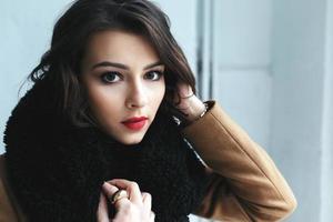 foto van meisje met studiollicht