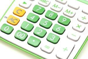 rekenmachine close-up foto