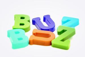 close-up van brieven foto