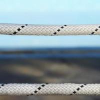 touw levenslijn close-up