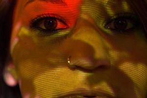moderne tribal close-up foto