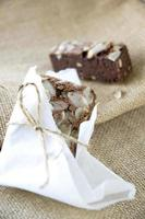 close-up noten brownie foto