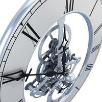 klokmechanisme close-up foto