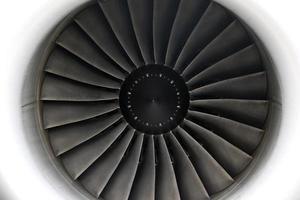 straalmotor close-up foto