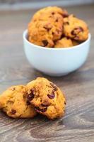 close-up zelfgemaakte koekjes foto