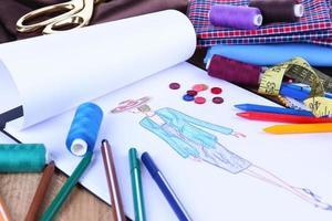 modeontwerper close-up foto