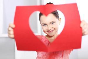 Valentijnsdag kaart foto