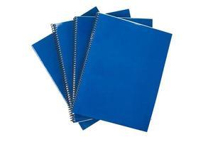 blauw schoolboek