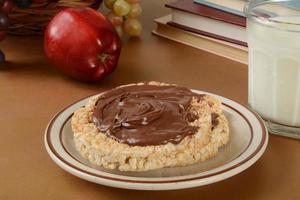 gezonde naschoolse snack foto