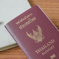 Thais paspoort foto