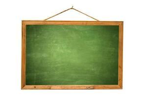 oud groen krijtbord foto