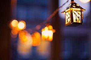 kerstlichten foto