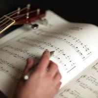 muziek studeren foto