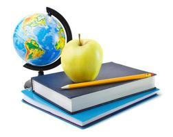 accessoires voor scholieren en studentenstudies foto