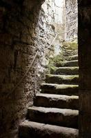 stenen trap foto
