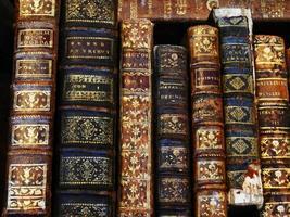 oude boeken foto