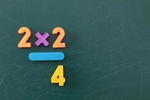 wiskunde leren foto