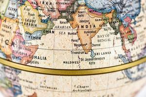 globe Zuid-Azië foto