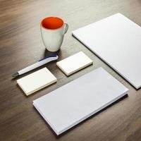 sjabloon voor huisstijl voor presentaties en portfolio's van grafisch ontwerpers foto