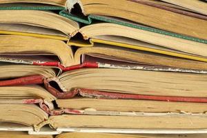 oude hardback boeken foto