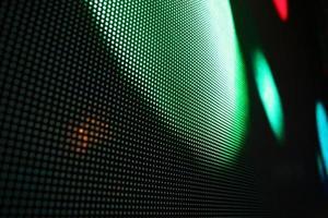 rood groen blauw lichtgevende dioden. foto