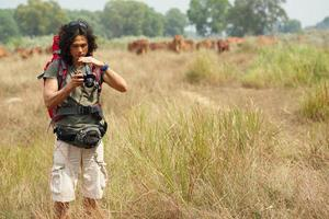 wandelende fotograaf