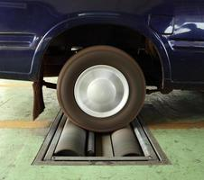 rem testsysteem van auto