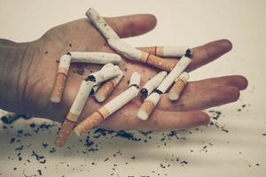 stop met roken foto