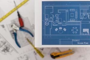 huis renovatieplan foto