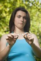 zwangere tabak stoppen foto