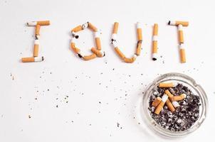 stoppen met roken foto