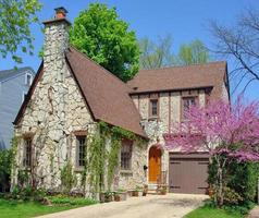 stenen huis foto