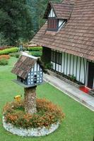 landhuis in tudorstijl foto
