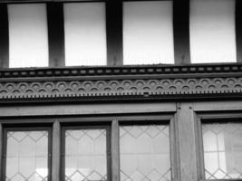 zwart-wit tudor chester