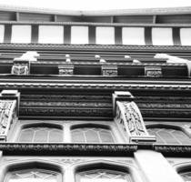 architectuur tudor chester hout foto