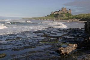 bamburgh castle ii foto