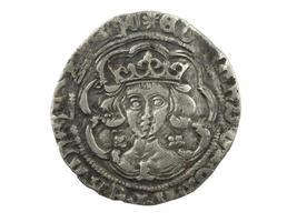 Edward iv zilveren munt 1464-1470 foto
