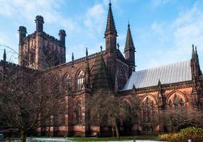 kathedraal van Chester foto