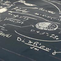 wiskundige formules foto